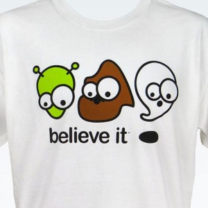 Alien, Bigfoot, & Ghost T-Shirt