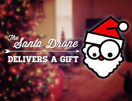 Package Delivery by Santa Drone