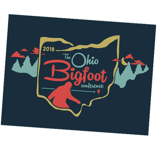 2018 Ohio Bigfoot Conference Stickers